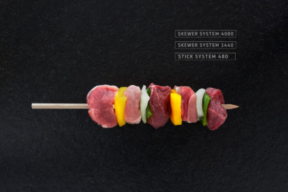 Miveg Skewer Systems · Räuberspieß · Country style skewer