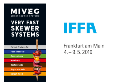 Miveg Skewer Systems · IFFA 2019