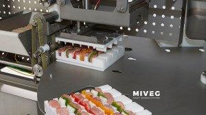 Miveg Skewer Systems · IFFA 2019 · Einstieg in die Spiess-Automation · Skewer System 1440