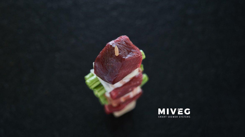 Miveg Skewer Systems · Geschichte vom Spieß