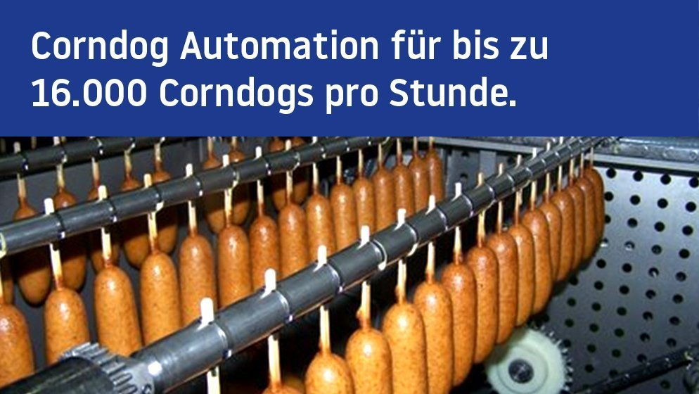 Miveg Skewer Systems · Corndog Systems