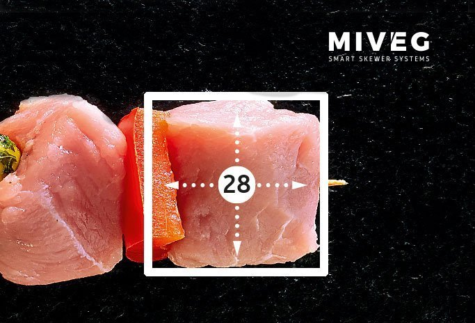 Miveg Stick System 480 · Metzger · Butcher · Grillspieß · BBQ