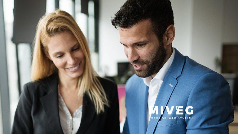 Miveg · Mitarbeitersuche Sales Manager · Fachberater