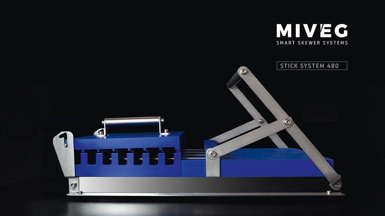 Stick System 480 · manuelles Spießsystem für den perfekten Grillspieß