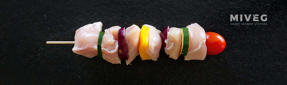 CHICKEN VEGETABLE SKEWER