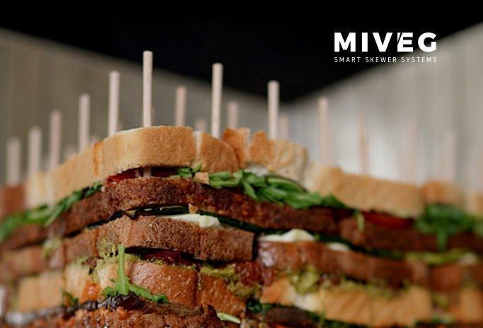 Miveg · Minispieße · Partyspieße · Cateringspieße · Mini Stick System · mini skewers · Stick System 81M
