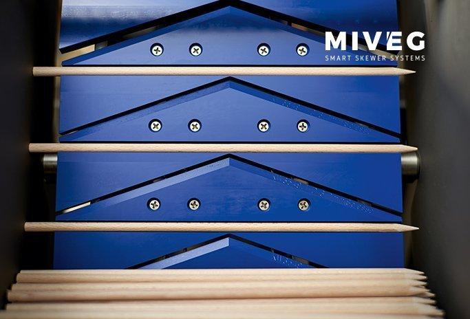 Buchenholzspieße · Rundholzspieße · Holzspiesse aus Buche · MIVEG