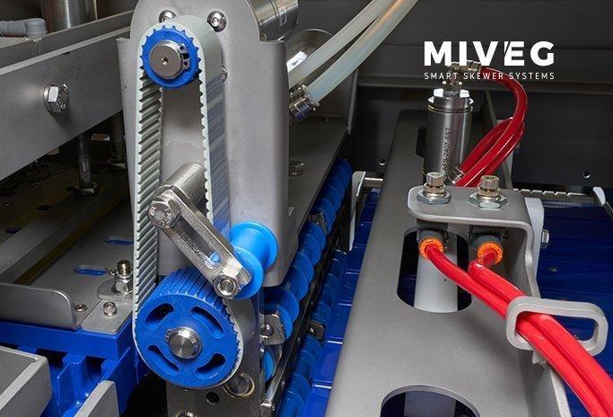 Miveg Skewer Systems · · Skewer System 7200 ·Hochleistungs-Spießsystem