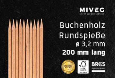 Buchenholzspieß · Rundspieß · Grillspieß · Schaschlikspieß · Holzspieß · Standardspieß