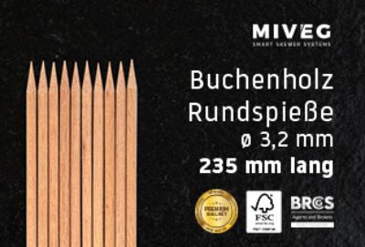 Buchenholzspieß · Rundspieß · Grillspieß · Schaschlikspieß · Holzspieß