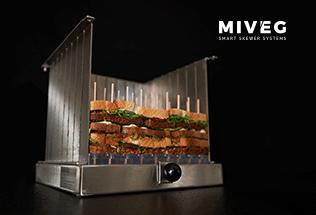 Stick System 72 · Spikomat · 72 gewichtsgleiche Spieße · Miveg Smart Skewer Systems