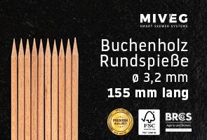 Buchenholzspieß · Rundspieß · Grillspieß · Antipastispieß