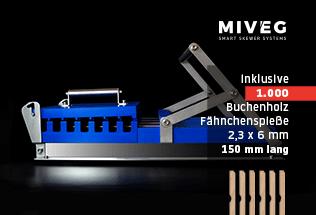 Miveg Stick System 480 · Metzger · Butcher · Grillspieß · BBQ · Fähnchenspieße