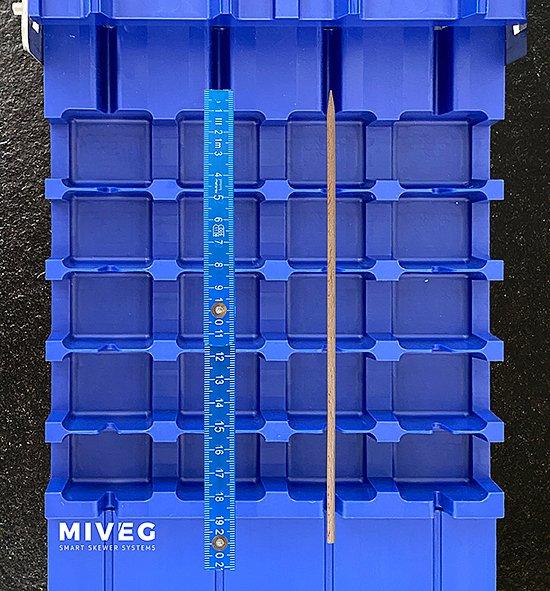Miveg · Smarkt Skewer Systems · Kassette · Cavity · Stick System 480