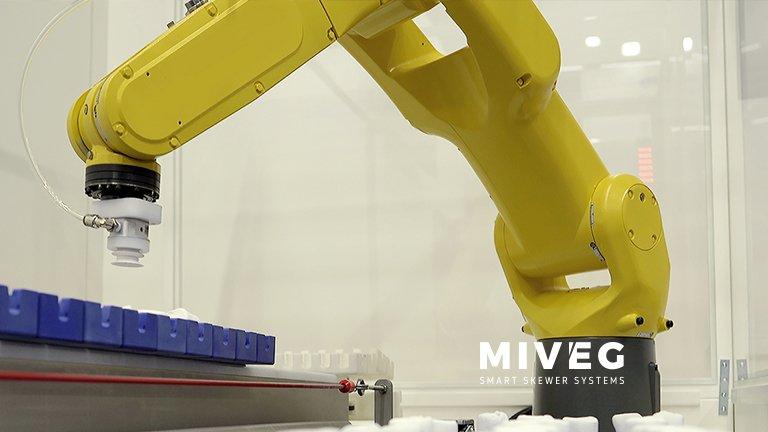 MIVEG · Smart Skewer Systems · Robotertechnik · Automation · Robotic · Robot Technology