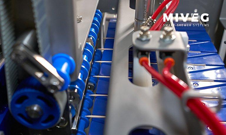 Miveg Hochleistungs-Spieß-System 7200 · High performance skewer system