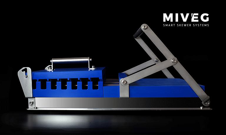 MIVEG Stick System 480 · manuelles Spießsystem für den perfekten Grillspieß