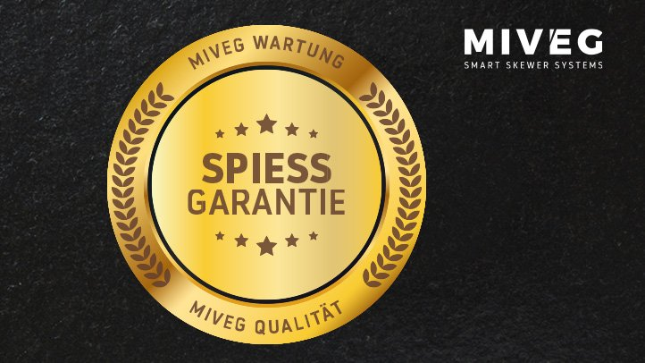 MIVEG Skewer Systems · Spiessgarantie
