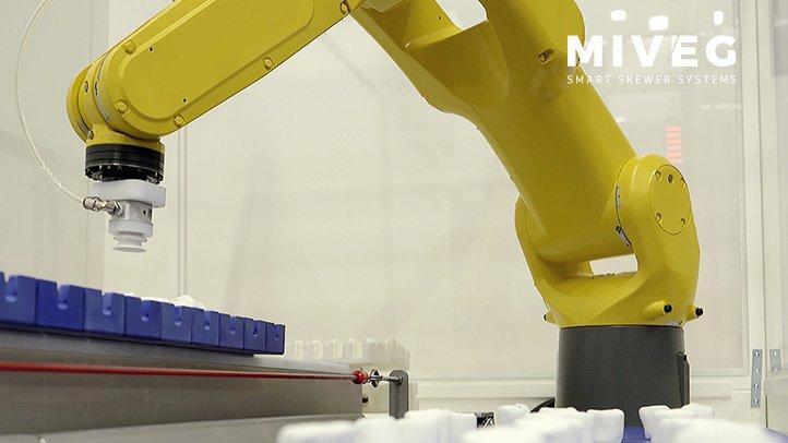 MIVEG · Smart Skewer Systems · Robotertechnik · Automation